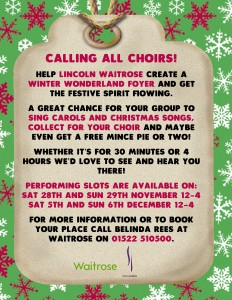 Calling all Choirs!