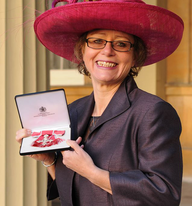 Nikki-Kate's MBE Honour