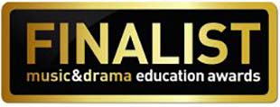 Finalist - music & drama education awards
